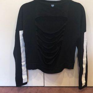 Forever21 Slit Back Sweatshirt Size XS